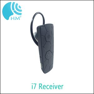 Professional I7 Ear Hanging Audio Guide System , Conference Interpreting Equipment