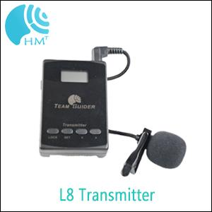 Cheap model L8 Portable Tour Guide System Audio Guide  Systems with AAA Battery
