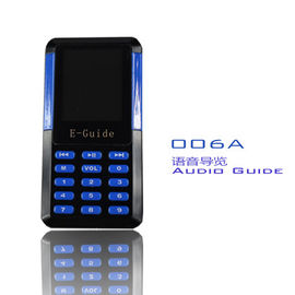 China 006A Mini Tour Guide Audio System 8 Languages Handheld Digital Audio Guides For Museums supplier