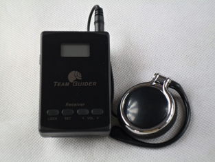 China Long Distance L8 Museum Audio Guide System Transmitter And Receiver With AAA Battery supplier