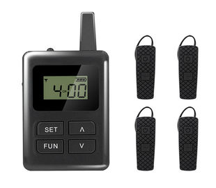 China Long Distance Tour Guide Receiver , E8 Ear Hanging Travel Tour Guide System supplier