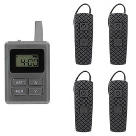 China 100 Channel E8 Ear Hanging Wireless Tour Guide System , Simultaneous Translation Equipment supplier