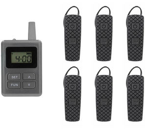 China Light And Clear Voice E8 Ear - Hanging Tour Guide For Museum And Travel supplier