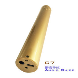 China The Click Audioguide Player Museum Audio Guide System For Self - Guided Tours distributor