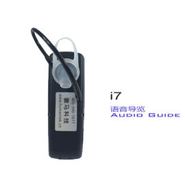 China Ear Hanging I7  Auto - Induction Digital Wireless Tour Guide System Audio Guide For Museum distributor