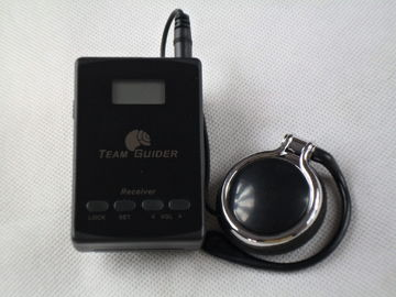 China Long Distance L8 Museum Audio Guide System Transmitter And Receiver With AAA Battery factory