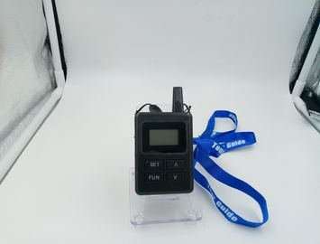 China E8 Ear Hanging Portable Tour Guide System Transmitter & Receiver For Tourist Reception distributor