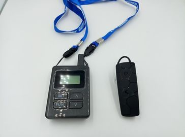 China New Stye The E8 Ear - Hanging Audio Tour Guide System Transmitter And Receiver distributor