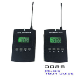 008B Bi - Directional Professional Tour Guide  System Transmitter with headphone