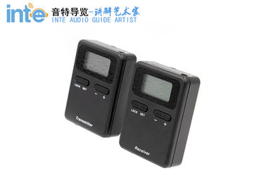 008A Mini Digital Wireless Tour Guide System Travel Audio Guide For Visiting