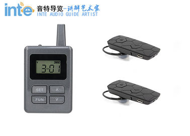 Long Distance Tour Guide Receiver , E8 Ear Hanging Travel Tour Guide System