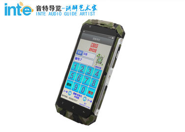 China Hand Held Simultaneous Interpretation Equipment A9 Android Intelligent Audio Guide Device distributor
