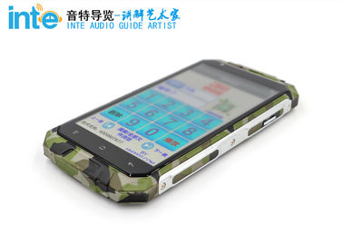 Multiple Color A9 3 - Proof Portable Tour Guide System For Self - Guided Tours
