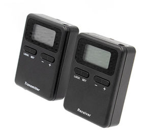 China Black Color 008A Digital Tour Guide System 250 Meter Working Distance CE / RoHS factory