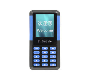 China Portable 006A Handheld Wireless Audio Guide System For Self - Help Tour Guides distributor