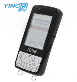 China 4G Memory LCD Screen Automatic Tour Guide System Wireless Audio Tour Guide System distributor