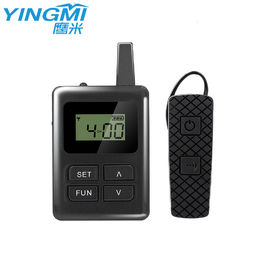 China Smart Bluetooth Audio Guide Communication System Ear Hanging Receiver For Travel Agency factory